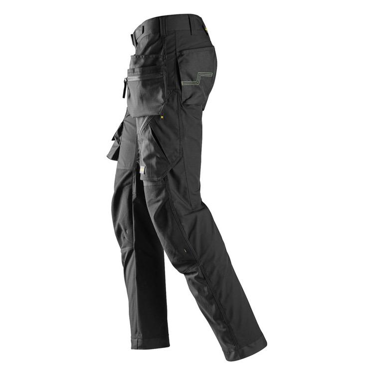 Snickers Workwear FlexiWork Golvläggarbyxa Svart 6923