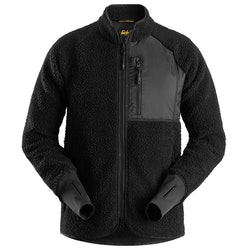 Snickers Workwear AllroundWork, Pile Full Zip Jacket Svart 8021