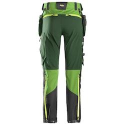 Snickers Workwear Flexiwork Softshellbyxa 6940 Grön