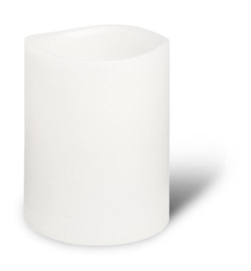 Enjoy Candles - Nordic White 8x15 cm
