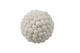 Cozy Room - Snäckboll Vit 6,5 cm