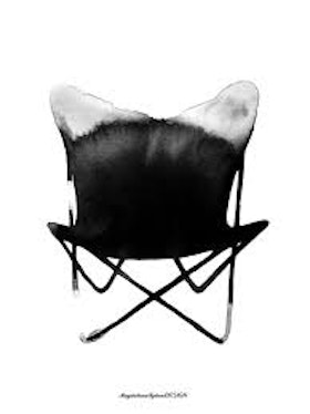 Magdalena Tyboni - Butterfly Chair 50x70 cm