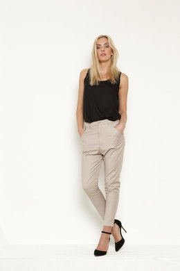 Vintage by fe - Joanna Trousers Sand