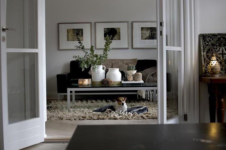 Cozy Room - Ullpläd Beige 125x150 cm