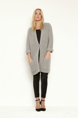 Vintage by fe - Julia Cardigan Fog