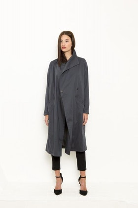 Vintage by fe - Jeila Coat Steel