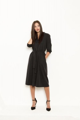 Vintage by fe - Lovisa Coat Soft Black