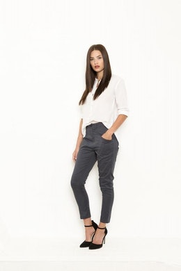 Vintage by fe - Lara Trousers Steel