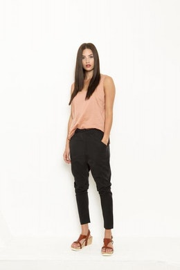 Vintage by fe - Joanna Trousers Soft Black
