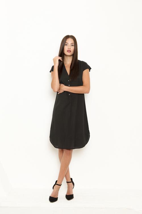 Vintage by fe - Liva dress black
