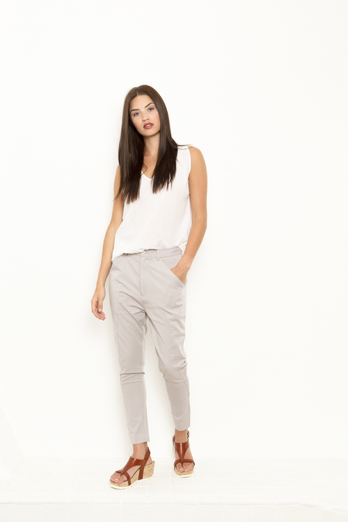 Vintage by fe - Joanna trousers grey