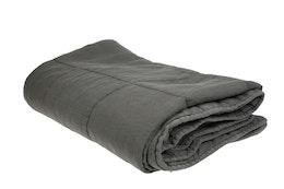 Cozy Room - Pläd Mörkgrå/grön 140x200 cm