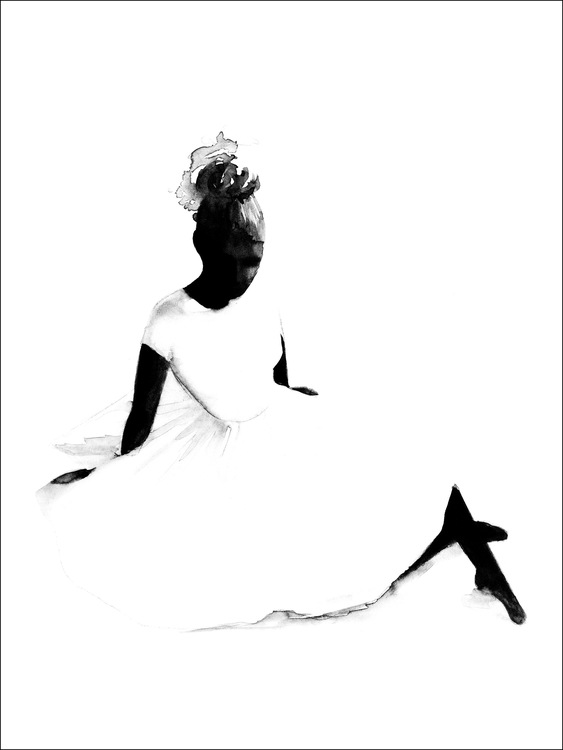 Magdalena Tyboni - Ballerina 50x70