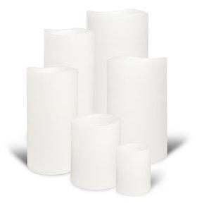 Enjoy Candles - Nordic White 8x10 cm