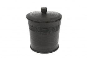 Cozy Room - Mörkgrå Keramikburk Stor