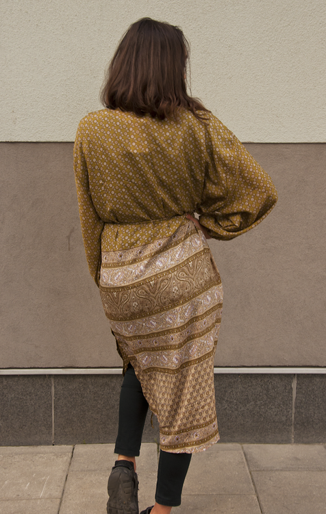 KIMONO - MORNING GLORY LONG (ONE SIZE) no.5