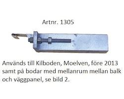 Bodtrappa aluminium  komplett, 900mm