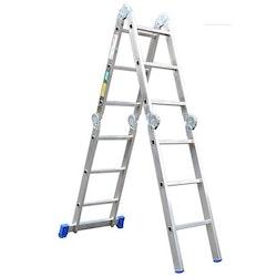 Dubbelstege med 4 delad stege 4 x 3 steg