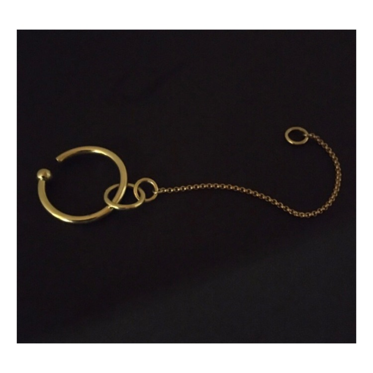 Earcuff With Ring