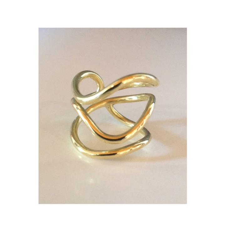 Golden wire (with 3 threads)