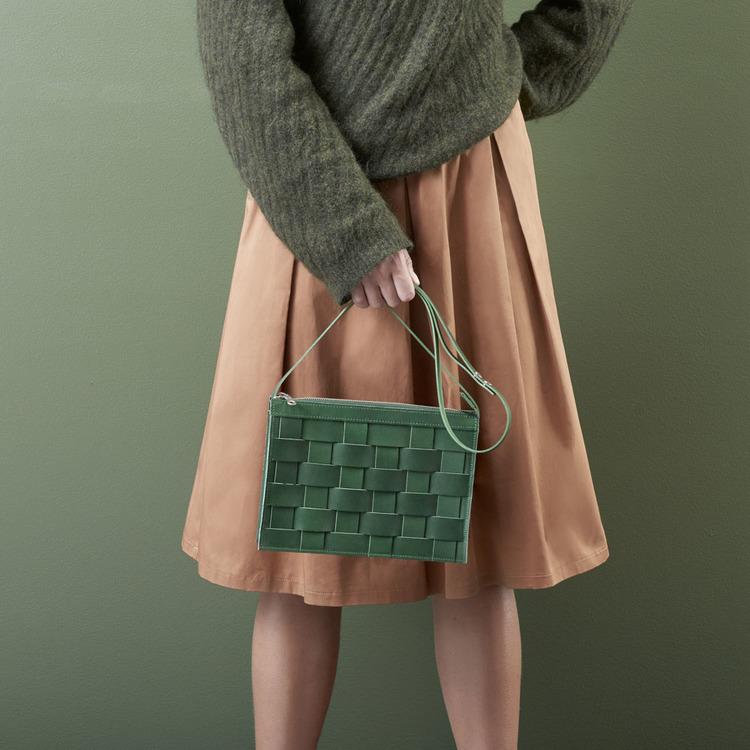 Näver Shoulderbag Green