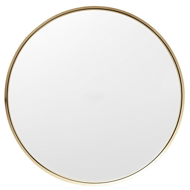Darkly Mirror Medium Brass