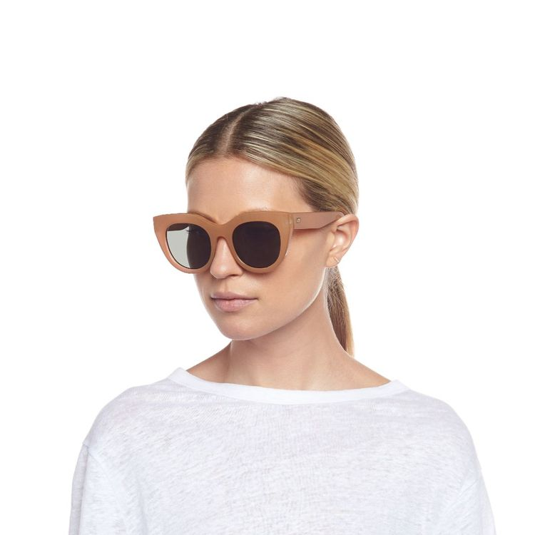 Air Heart Caramel Sunglasses