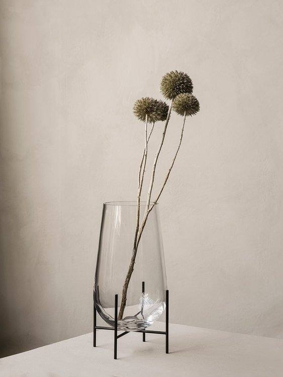 Echasse Vase Small Clear Glass