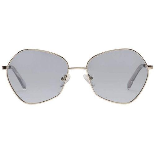 Escadrille Gold Grey Light Tint Polarized Sunglasses