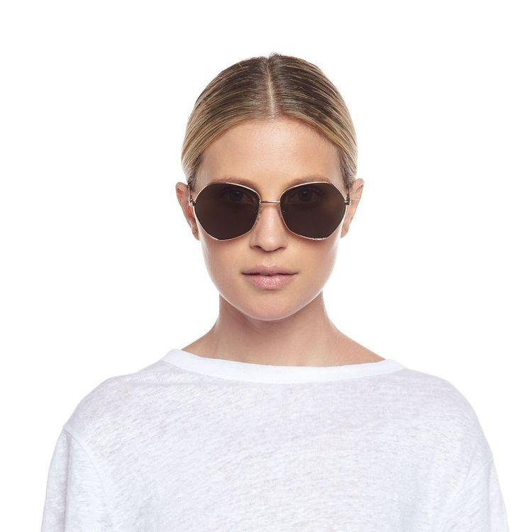 Escadrille/ bright gold w/ khaki mono lens /Womens Glasses