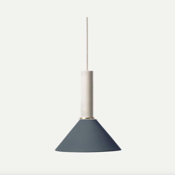 Collect Pendant Lamp, light grey/ dark blue