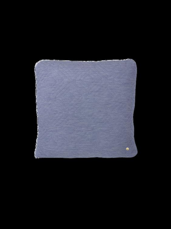Quilt Cushion - Light Blue - 45 x 45