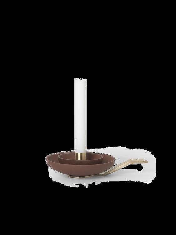 Around Candle Holder Rust