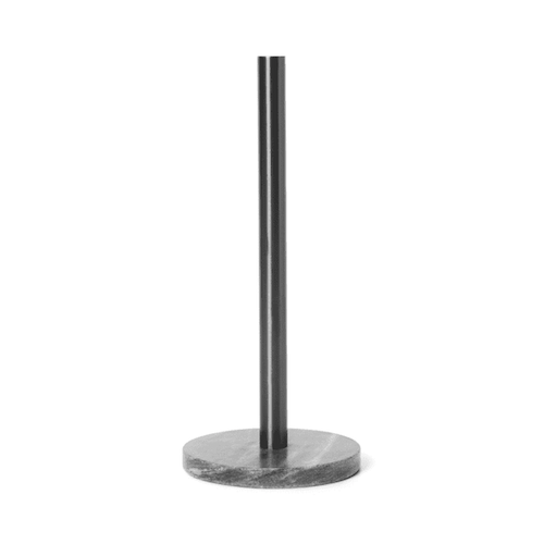 Paper Towel Holder Black Brass
