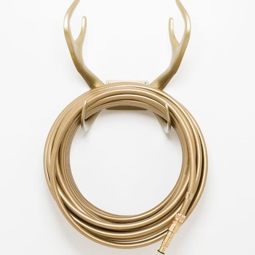 Reindeer Gold Hose Holder