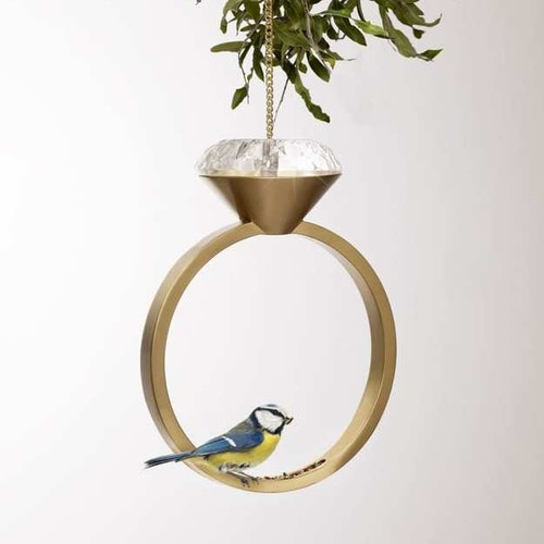 Diamond Ring Bird Feeder