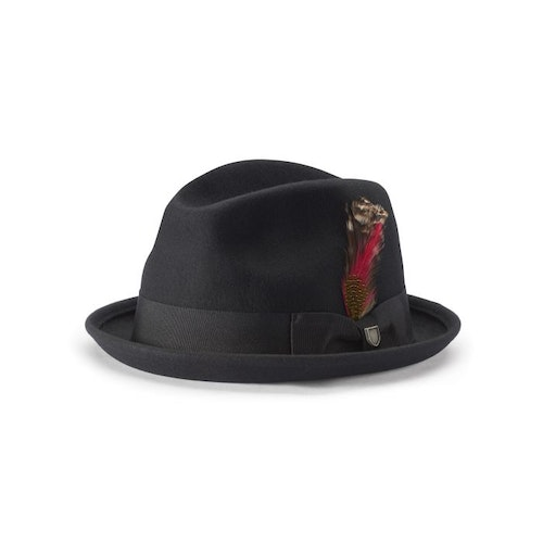 Gain Fedora Black Unisex Hat