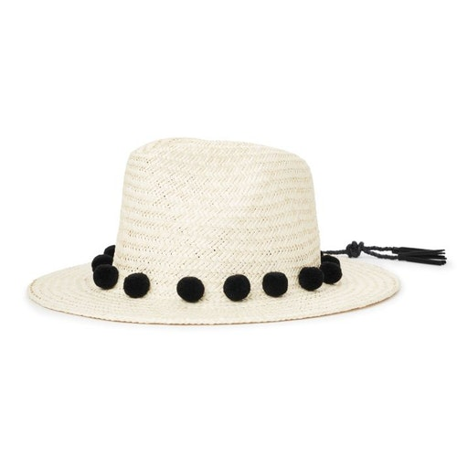 Layover Fedora Hat - Light Tan