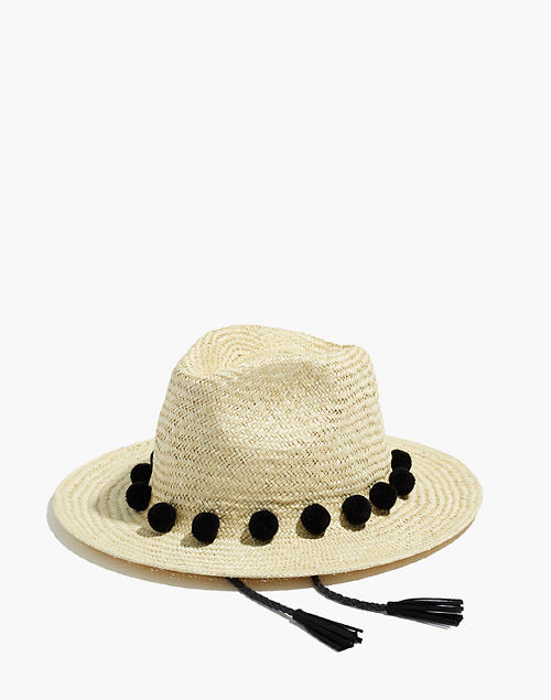 Layover Fedora Hat - Light Tan