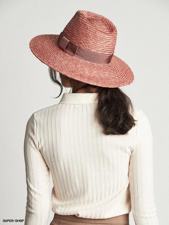 Joanna Hat Dark Lilac
