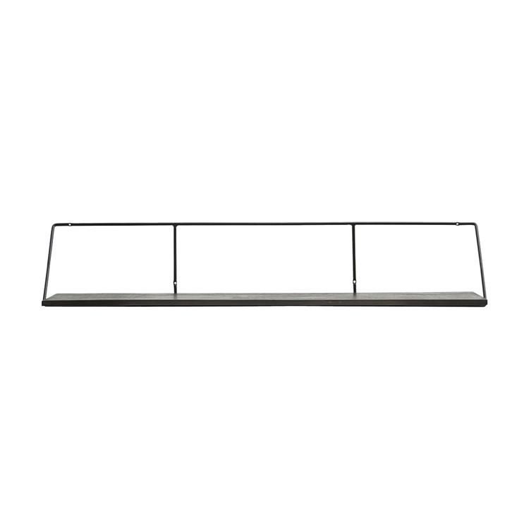 Shelf Wired Black Stain