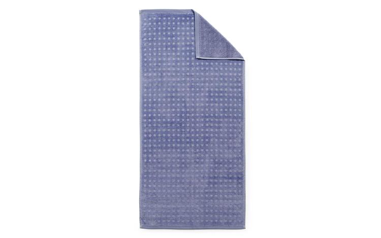 Imprint Towel 70x140 Dot Cornflower