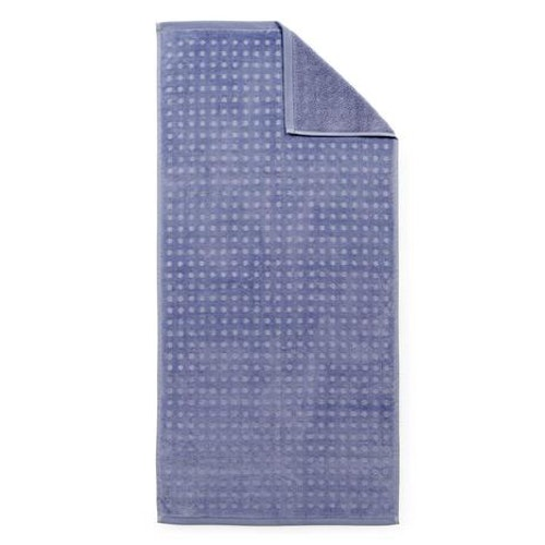 Imprint Towel 70x140 Dot Cornflower