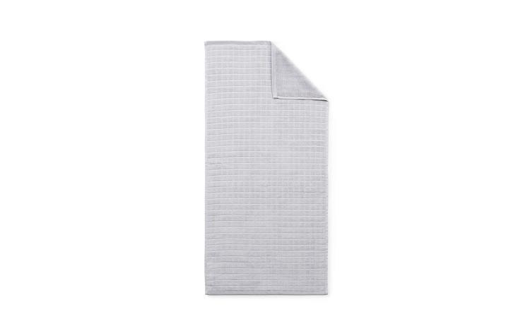 Imprint Towel 50x100 Grid Lilac