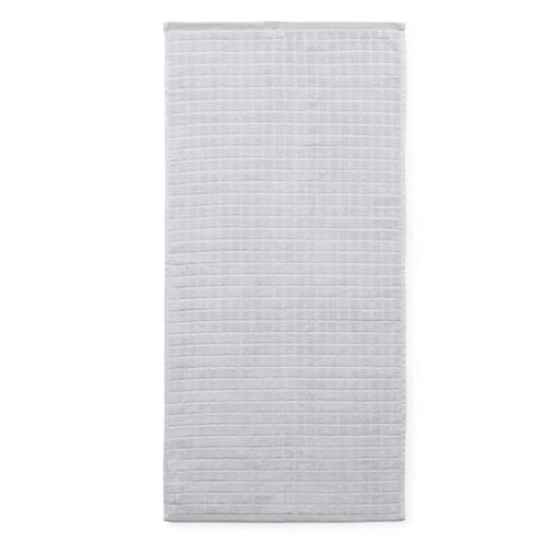 Imprint Towel 70x140 Grid Lilac