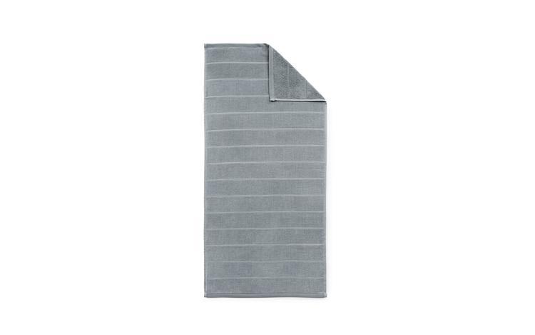 Imprint Towel 70x140 Stripe Grey