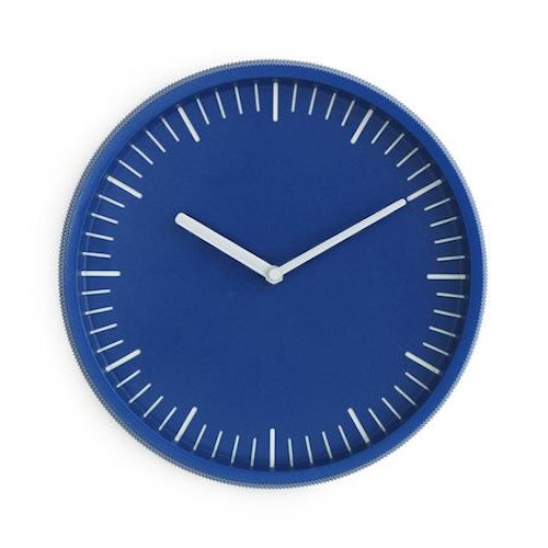 Day Wall Clock Blue
