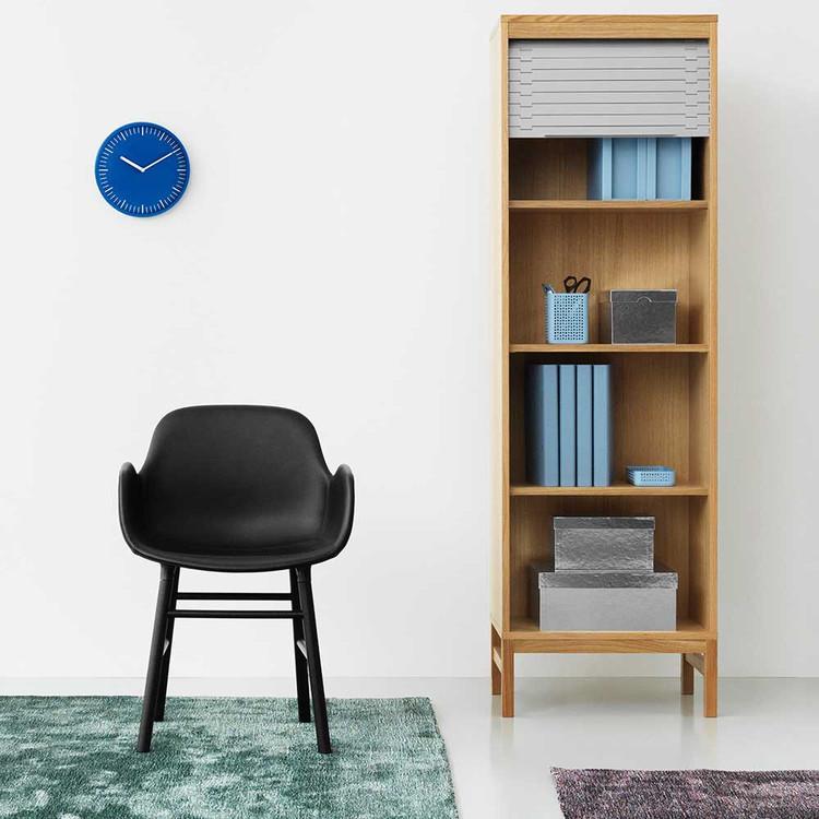 Day Wall Clock Blue