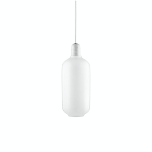 Amp Lamp Large EU White/White