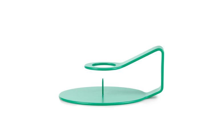 Nocto Candlestick Aqua Green
